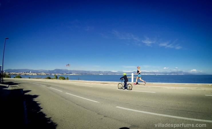 Running Cap d'Antibes