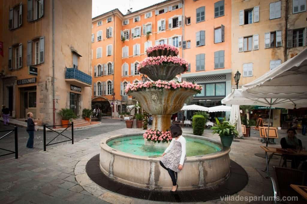 Grasse ExpoRose Fountain