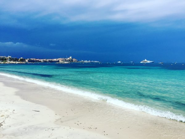 Plage de la Salis, one of the many gorgeous beaches in Antibes